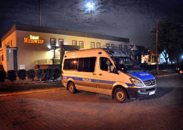 Zatrzymano autokar wracający z marszu - Zdjęcie główne