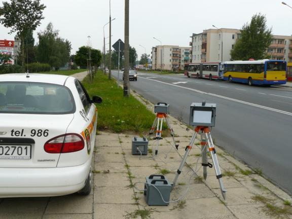 Uwaga na fotoradar i na roboty drogowe - Zdjęcie główne