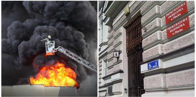 Umorzono śledztwo w sprawie pożaru w Zakładach Mięsnych Olewnika - Zdjęcie główne