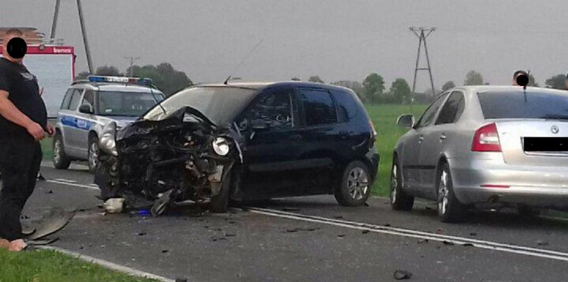 Dwie osoby ranne. Cztery auta skasowane - Zdjęcie główne