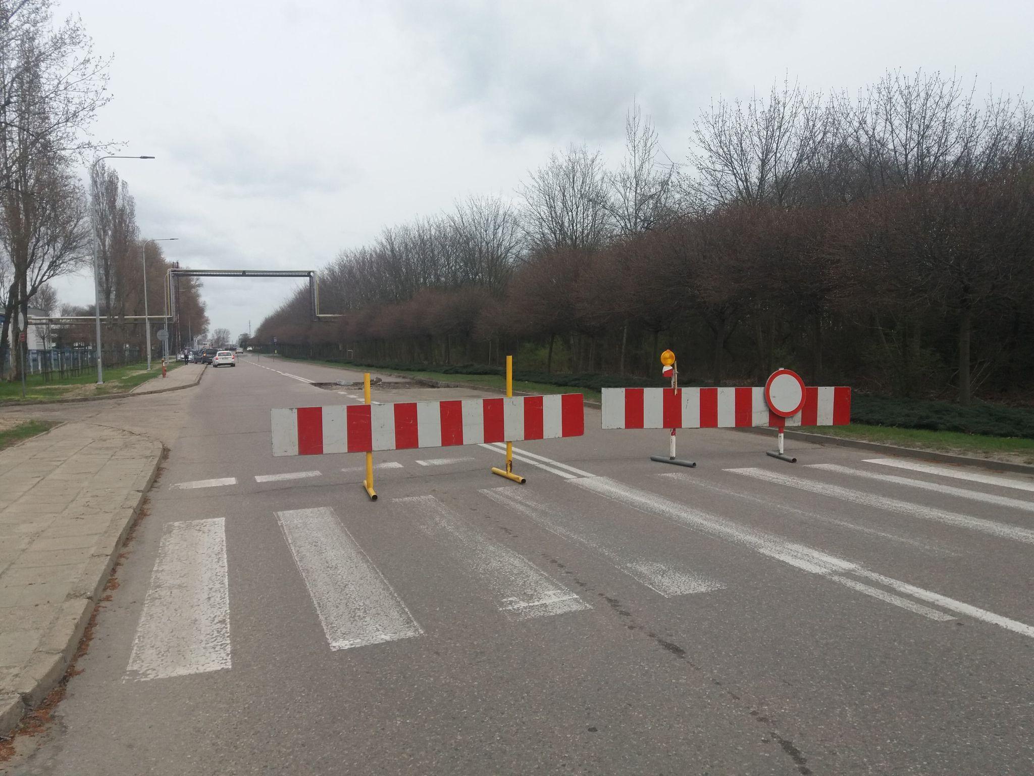 Niespodziewany problem przy naprawie. Droga będzie zamknięta do odwołania  - Zdjęcie główne