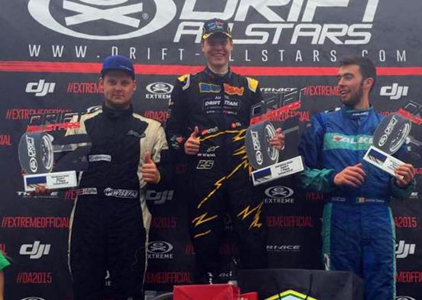 Płocki drifter najlepszy w Estonii - Zdjęcie główne