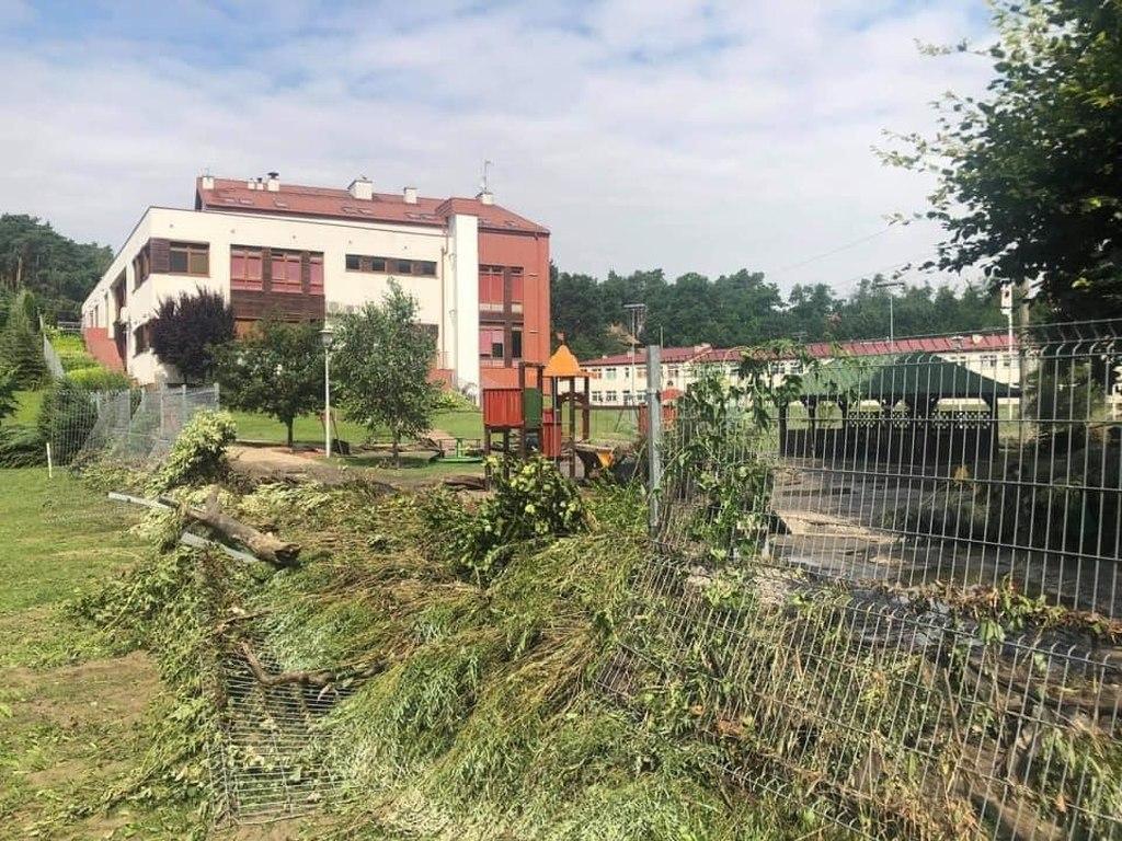 Gmina Słupno walczy z żywiołem. Pomoc dla poszkodowanych mieszkańców nawet do 200 tys. zł [ZDJĘCIA] - Zdjęcie główne