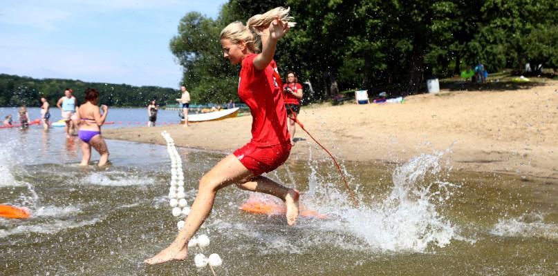 Na Grabinie ma być bezpiecznie. Strzeżone kąpielisko otwarte  - Zdjęcie główne