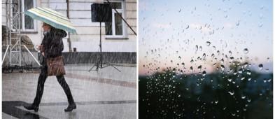 Silne opady deszczu. Jest ostrzeżenie  - Zdjęcie główne
