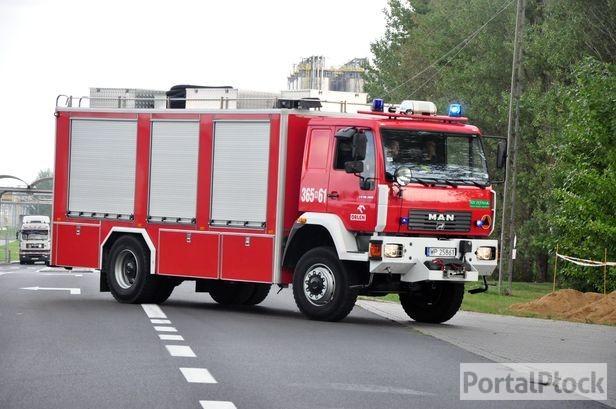 Po Płocku jeździ sporo wozów strażackich - Zdjęcie główne