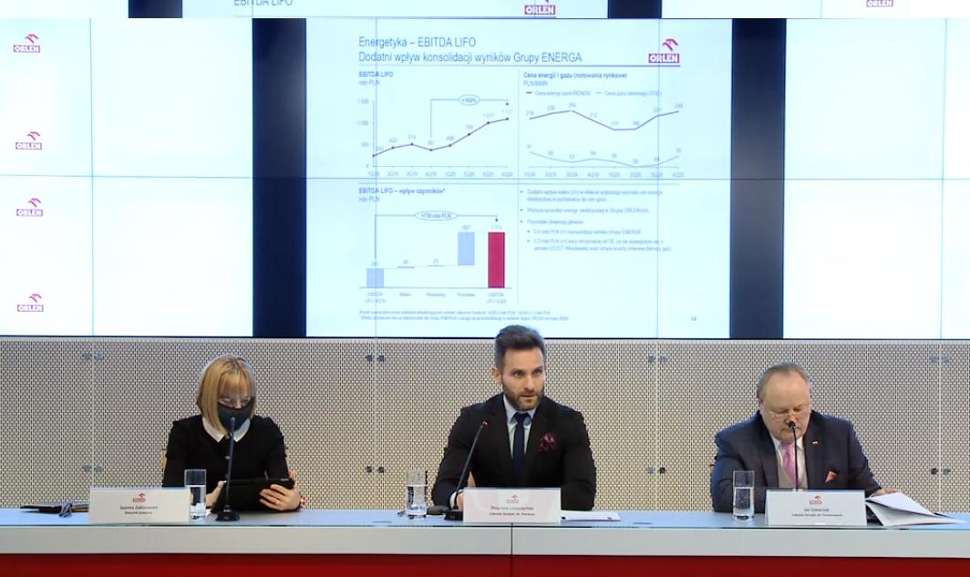 Wyniki PKN ORLEN w czasach kryzysu. Prawie 3,4 mld złotych zysku netto  - Zdjęcie główne