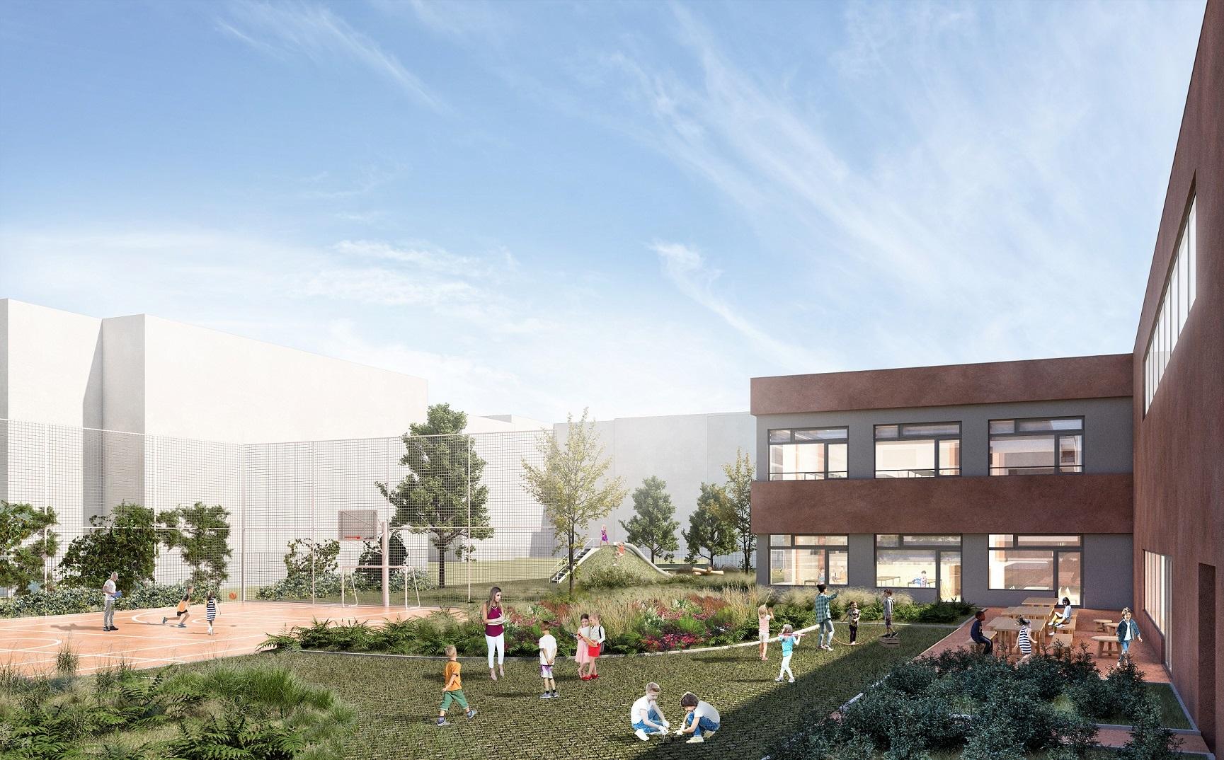 Zielone światło dla szkoły na Konstruktorskiej od Komisji Ładu Przestrzennego  - Zdjęcie główne