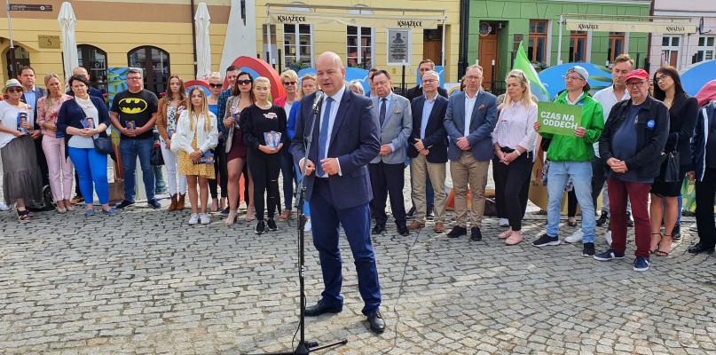 PO i PSL kończą kampanię. - Andrzej Duda jest tylko długopisem dla Jarosława Kaczyńskiego - Zdjęcie główne