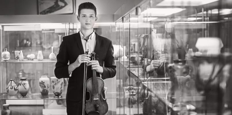 Płocki skrzypek zdobył nagrodę w międzynarodowym konkursie - Zdjęcie główne