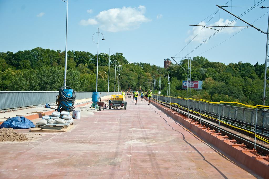 Trwa remont mostu Legionów Piłsudskiego - Zdjęcie główne