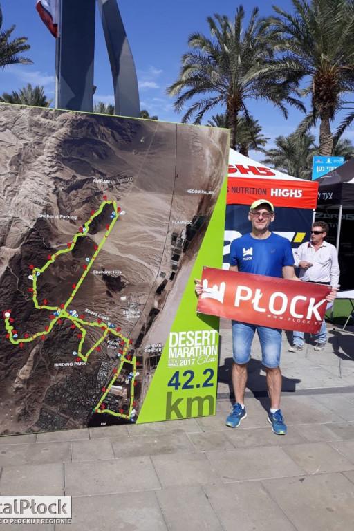 Przebiegł maraton na pustyni - Zdjęcie główne