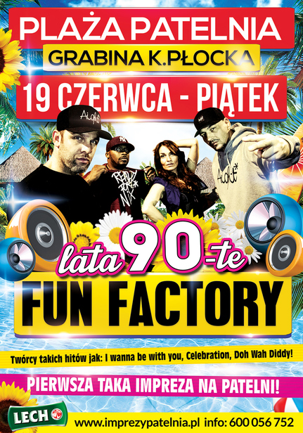 Fun Factory na Plaży Patelnia - Zdjęcie główne