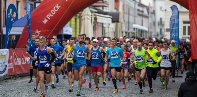 Kilkaset osób pobiegło w biegu Tumska Dycha - Zdjęcie główne