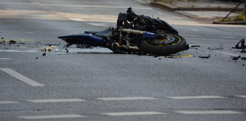 Śmiertelny wypadek. Nie żyje 46-letni motocyklista - Zdjęcie główne