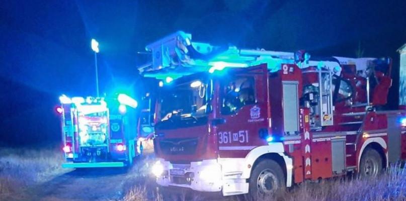 Pożar domu w podpłockich Borowiczkach - Zdjęcie główne