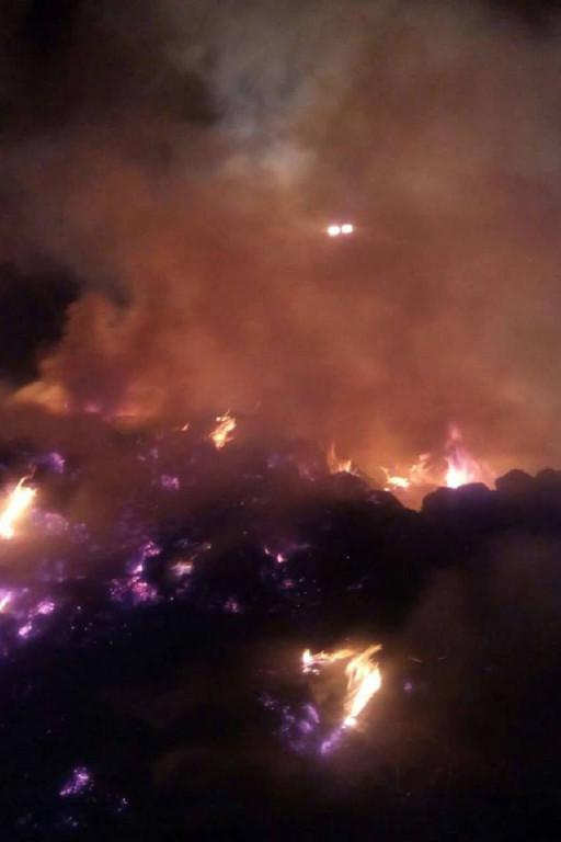 Sześciogodzinna walka z pożarem - Zdjęcie główne