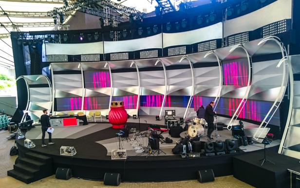 Dziś kabarety. W amfiteatrze jest TV [FOTO] - Zdjęcie główne