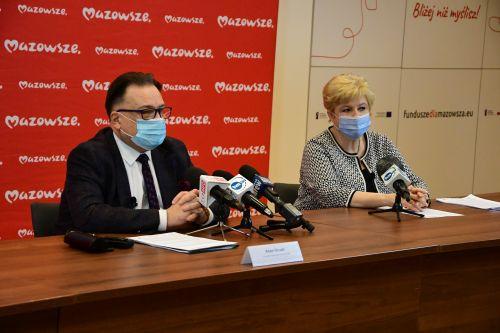Kolejne 105 mln zł na walkę z koronawirusem od Samorządu Mazowsza - Zdjęcie główne