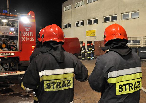 Pożar hurtowni przy Bielskiej [FOTO] - Zdjęcie główne
