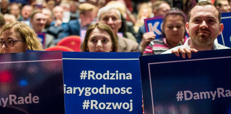Konwencja PiS. O szansach dla Płocka, euro i złotej rybce z Koalicji Europejskiej - Zdjęcie główne