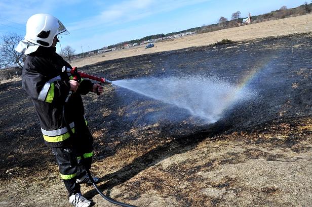Aż 360 pożarów w roku w Płocku i okolicach - Zdjęcie główne