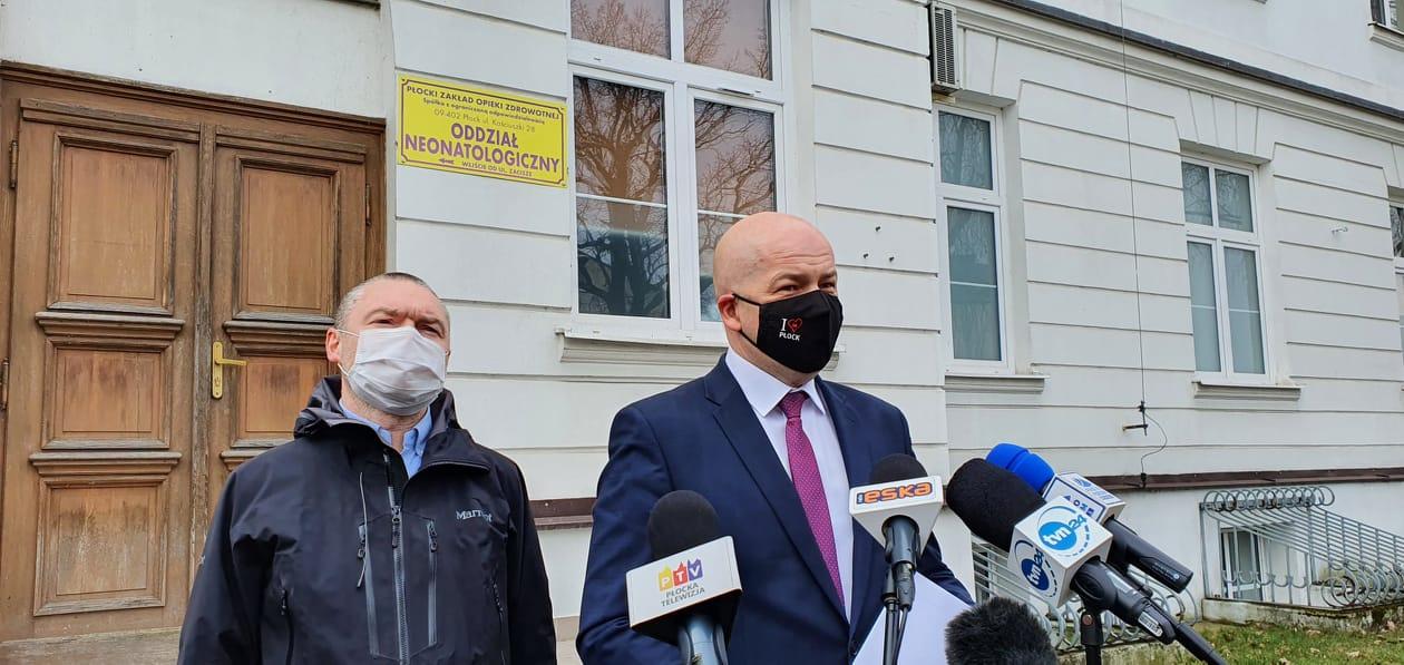 Oddział covidowy w szpitalu św. Trójcy to zagrożenie dla zdrowia i życia płocczan? - Zdecydowanie tak  - Zdjęcie główne