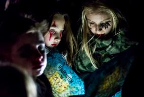 Nocne zwiedzanie ze strachami. Nawet wampir wstał z trumny [FOTO] - Zdjęcie główne
