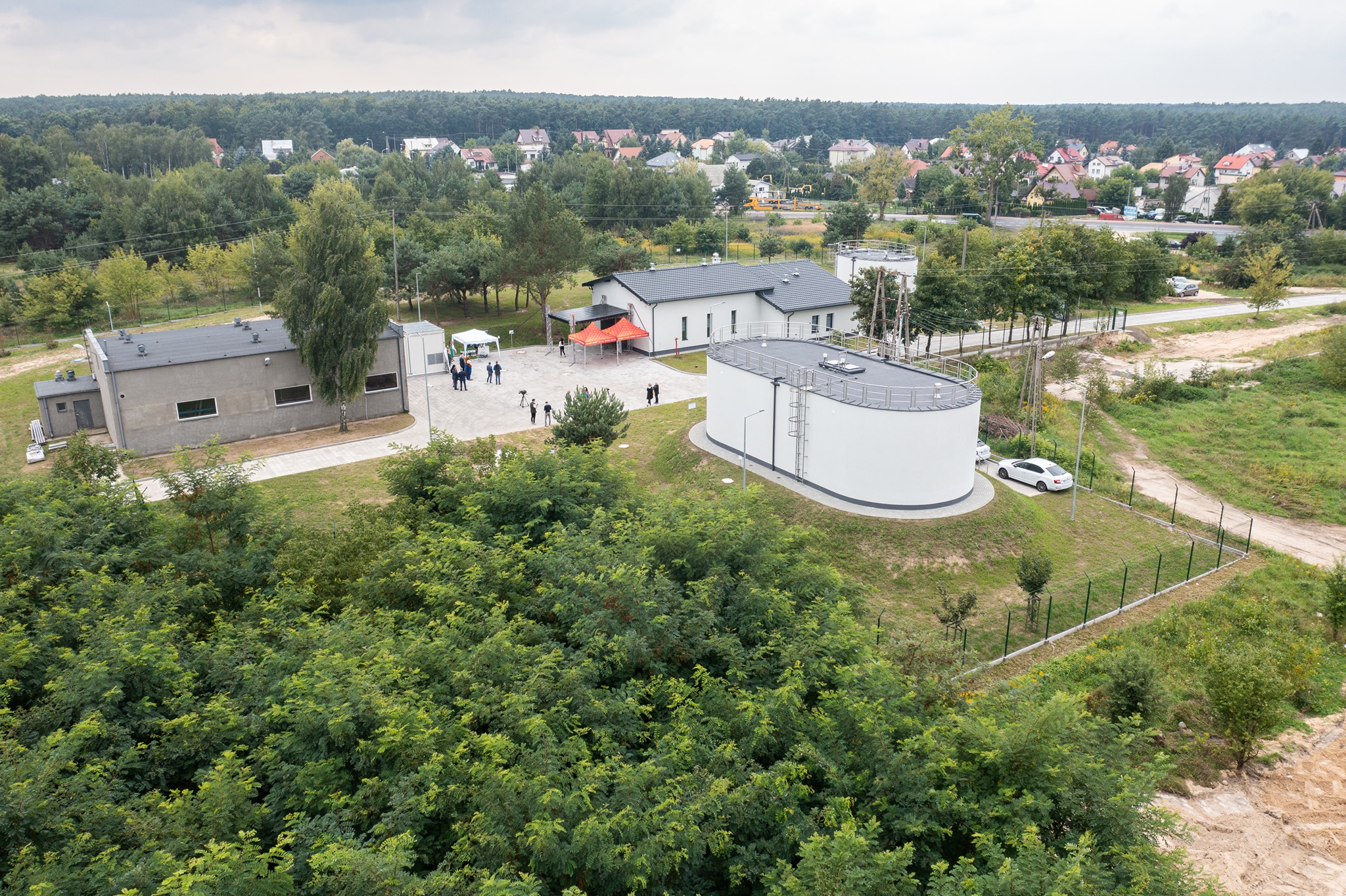 Zmodernizowano stację uzdatniania wody w Górach. - To strategiczna inwestycja dla płocczan [ZDJĘCIA] - Zdjęcie główne