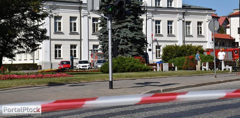 Alarm bombowy w płockim sądzie. Pirotechnicy sprawdzają budynek [AKTUALIZACJA] - Zdjęcie główne
