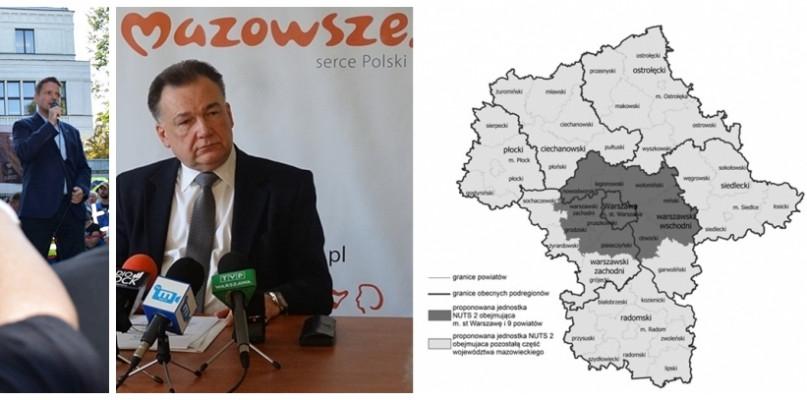 Dojdzie do podziału obecnego województwa mazowieckiego? - Zdjęcie główne