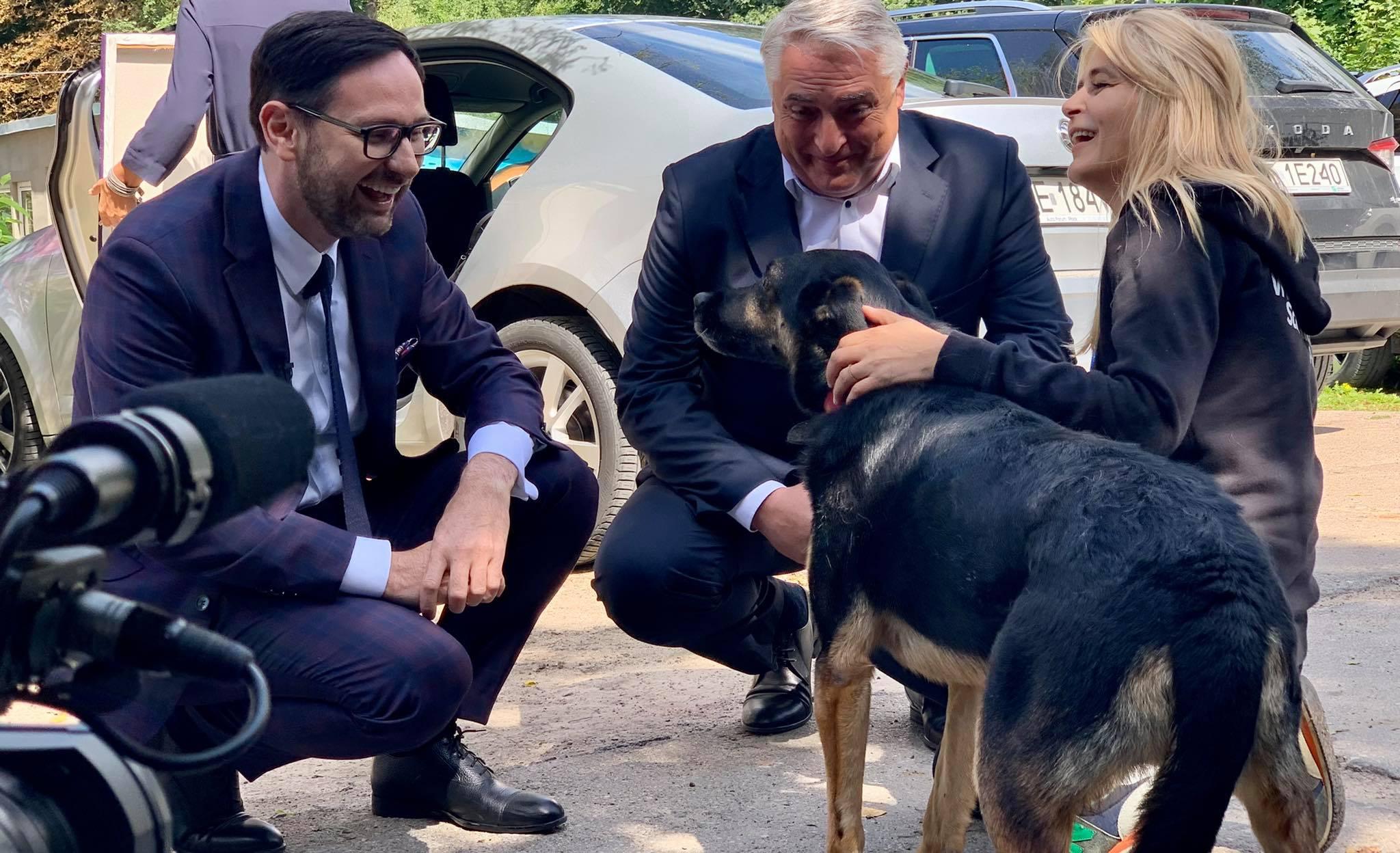 Orlen wspiera płockie schronisko. Przekazano pieniądze, adoptowano psa [ZDJĘCIA] - Zdjęcie główne