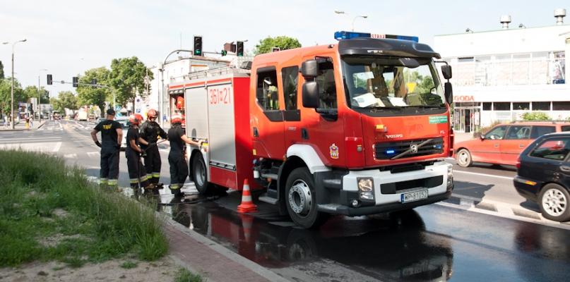 Straż pożarna interweniowała w centrum. Co się stało? - Zdjęcie główne