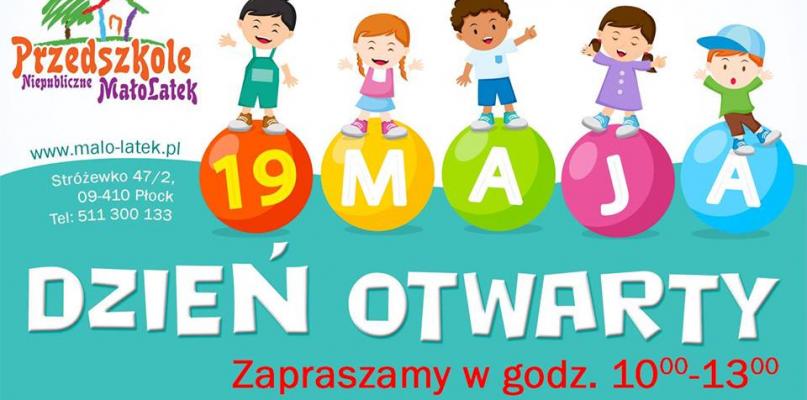 Dzień Otwarty w Przedszkolu MałoLatek. Co będzie? - Zdjęcie główne