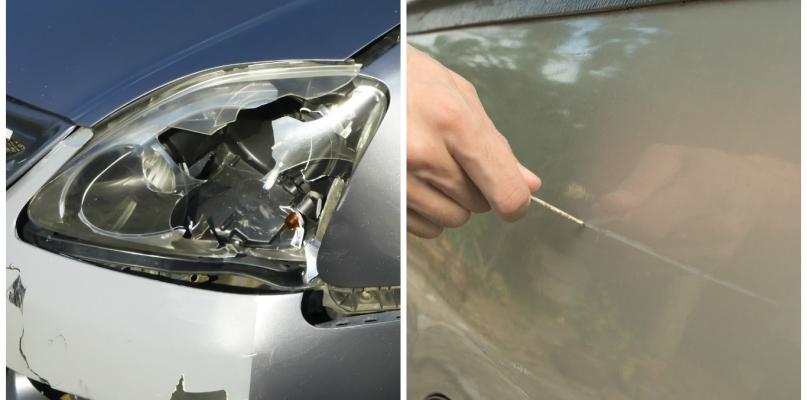 Wandale na Podolszycach Południe niszczą samochody - Zdjęcie główne