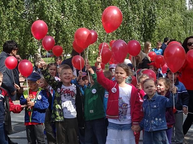Marsz setek najmłodszych płocczan[FOTO] - Zdjęcie główne