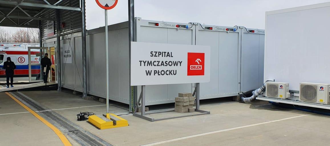 Szpital tymczasowy w Płocku powiększył się o... cztery łóżka. Bardzo trudna sytuacja Winiar - Zdjęcie główne