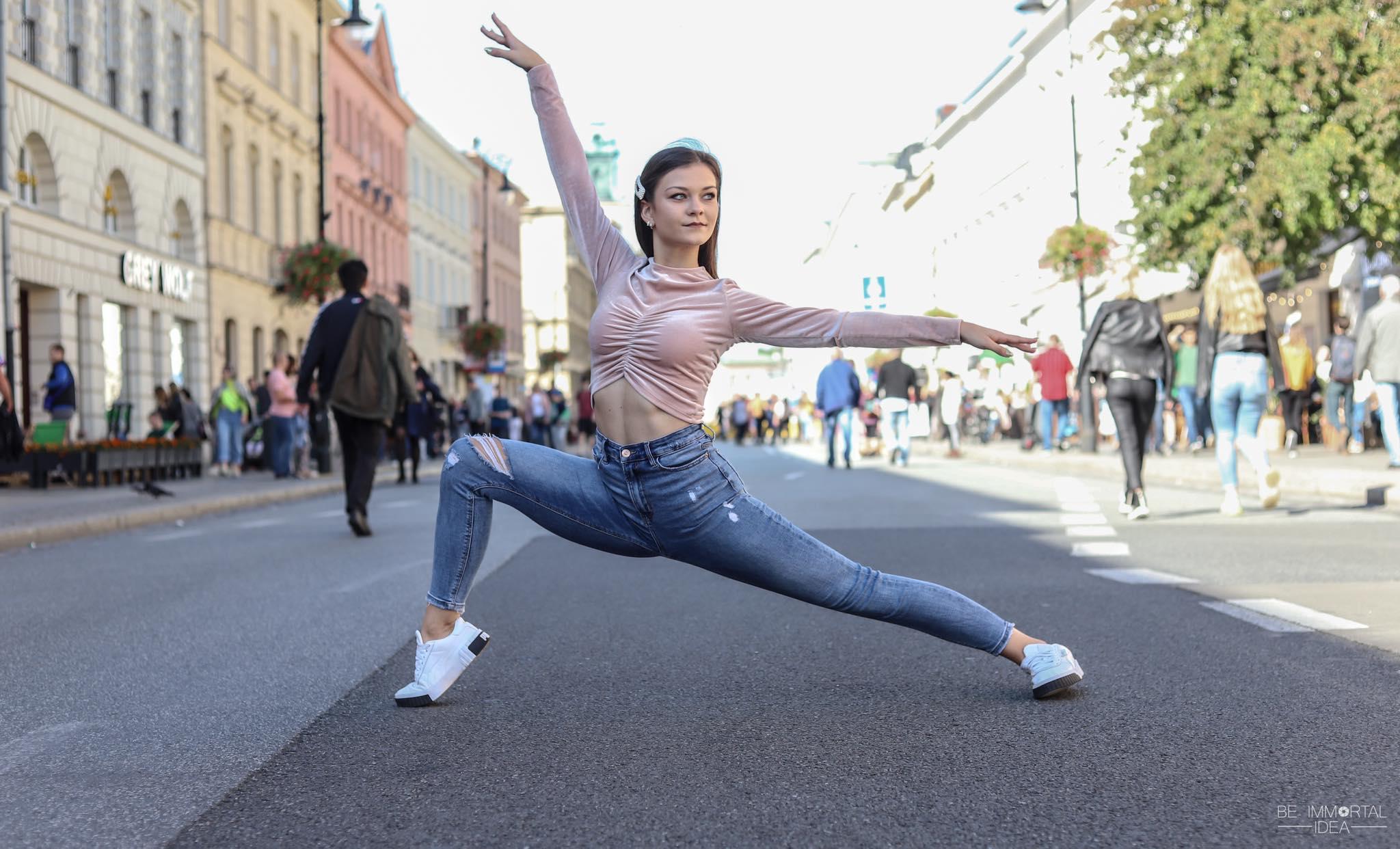Młoda, utalentowana, pełna pasji. Nagroda dla tancerki z Płocka - Zdjęcie główne