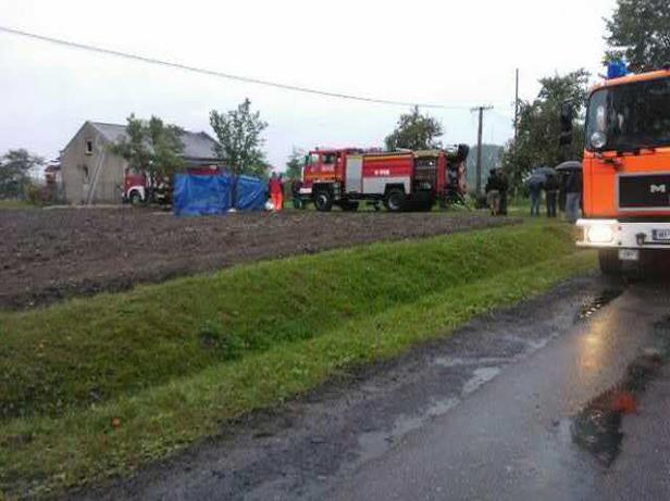 Pożar domu, jedna osoba nie żyje - Zdjęcie główne