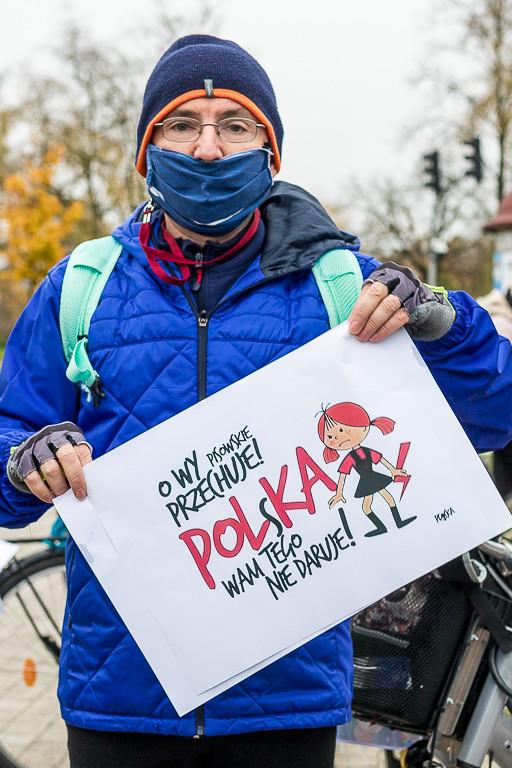 Rowerowy Strajk Kobiet - Zdjęcie główne