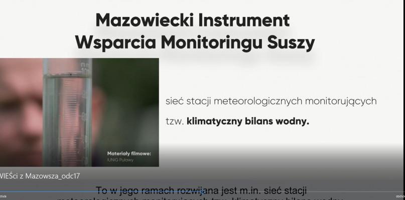 Wieści z Mazowsza odc.17 [WIDEO] - Zdjęcie główne