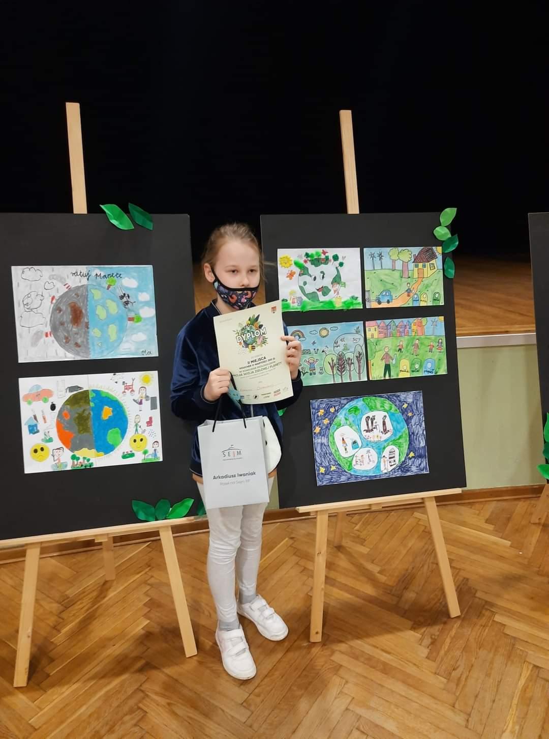Wizja zielonej planety według młodych. Konkurs ekologiczny rozstrzygnięty - Zdjęcie główne