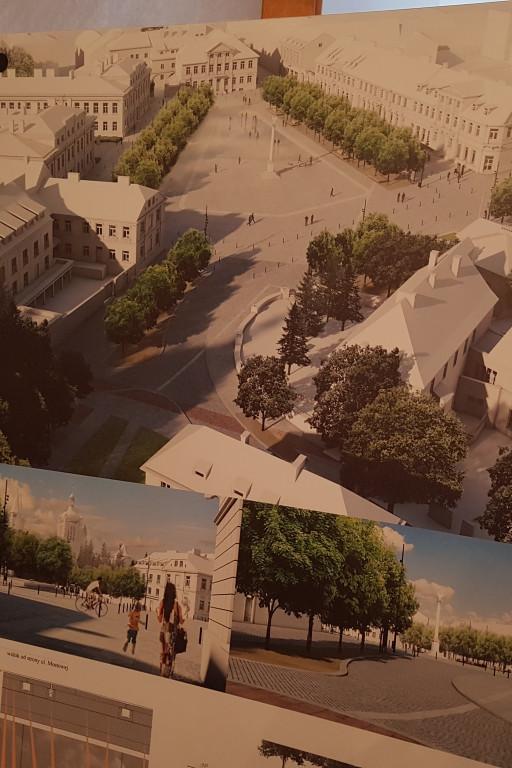 Wizualizacje Placu Narutowicza - Zdjęcie główne