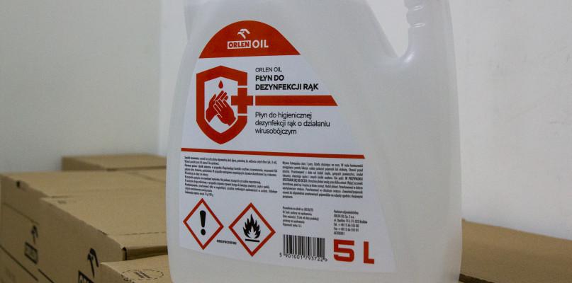 Płyn do dezynfekcji ORLENU w sklepach w znacznie wyższej cenie?  - Zdjęcie główne
