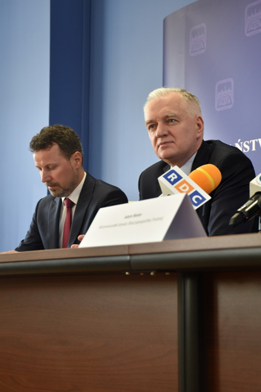 Jarosław Gowin i Adam Bielan w Płocku - Zdjęcie główne