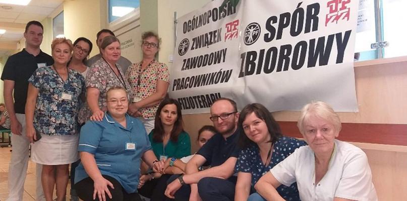 Weszli w spór zbiorowy z dyrektorem szpitala na Winiarach [LIST] - Zdjęcie główne