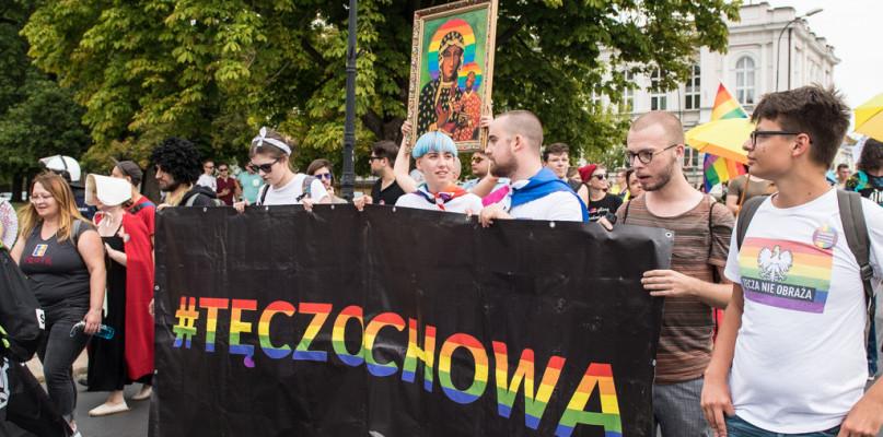 Marsz Równości i kontrmanifestacja. Nie obyło się bez kontrowersji [FOTO] - Zdjęcie główne