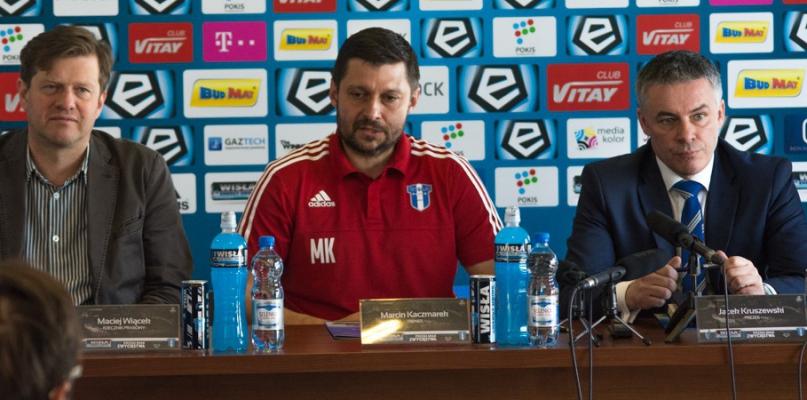 Marcin Kaczmarek nie jest już trenerem Wisły Płock - Zdjęcie główne