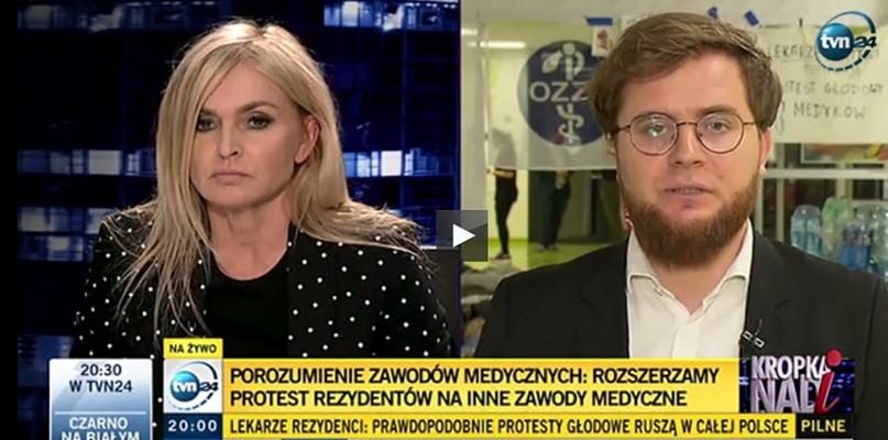 Młodzi lekarze z Płocka dołączą do protestu głodowego? - Zdjęcie główne
