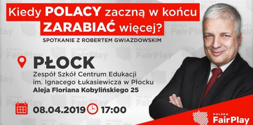 Kiedy Polacy zaczną zarabiać więcej? Odpowie Robert Gwiazdowski - Zdjęcie główne